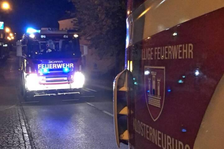 Brandeinsatz im Landesklinikum Klosterneuburg