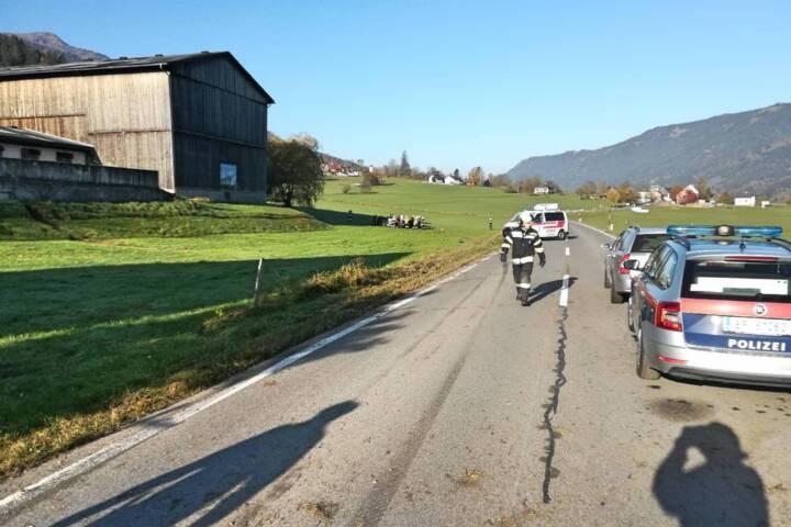 Schwerer Verkehrsunfall auf der B113