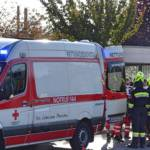 Verletzte Person auf der Südbahn