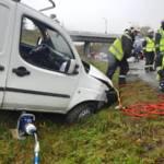 Verkehrsunfall auf der A23