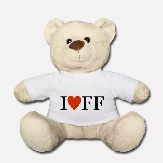 Ich liebe Freiwillige Feuerwehr Teddybär