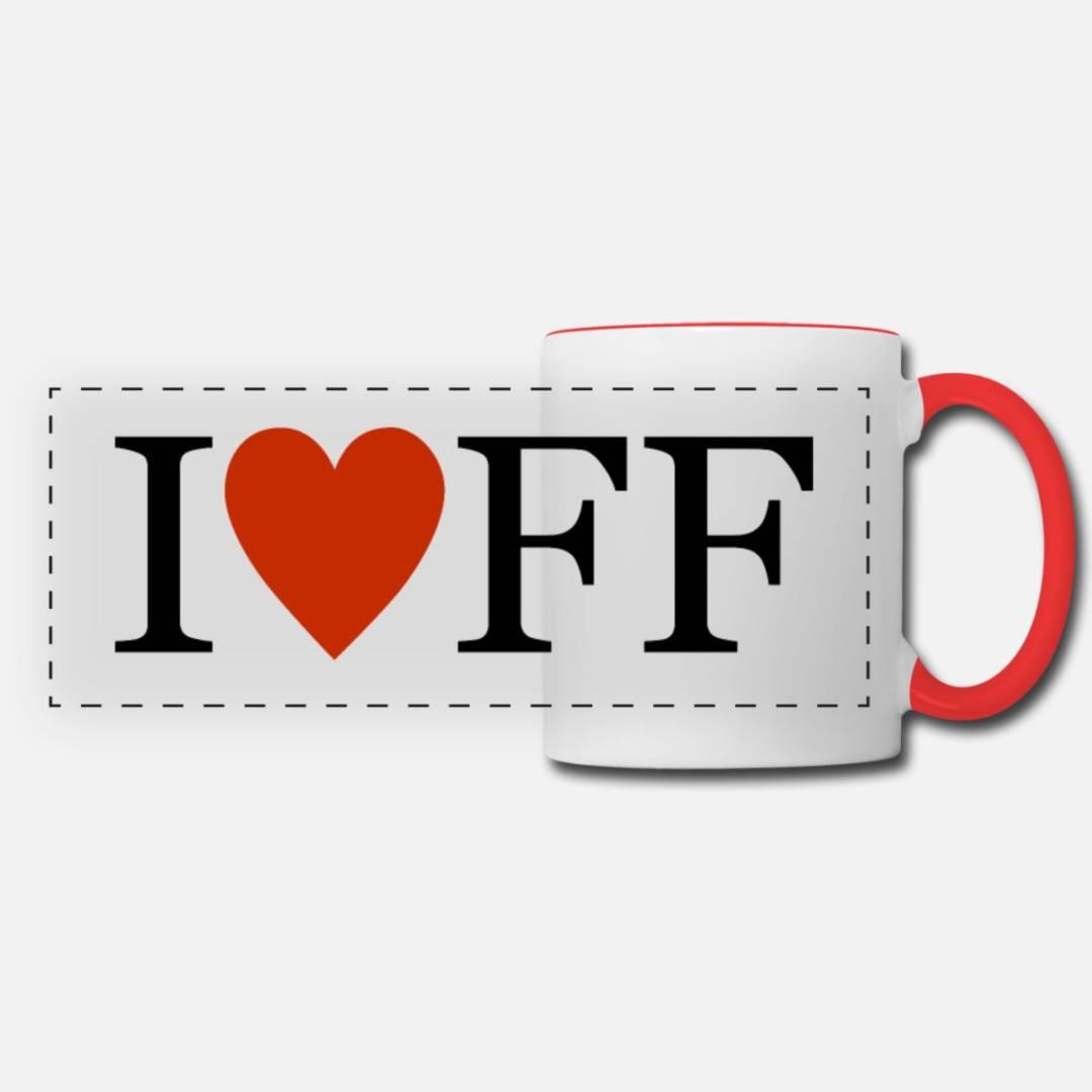 Kaffeetasse - I ❤️ FF