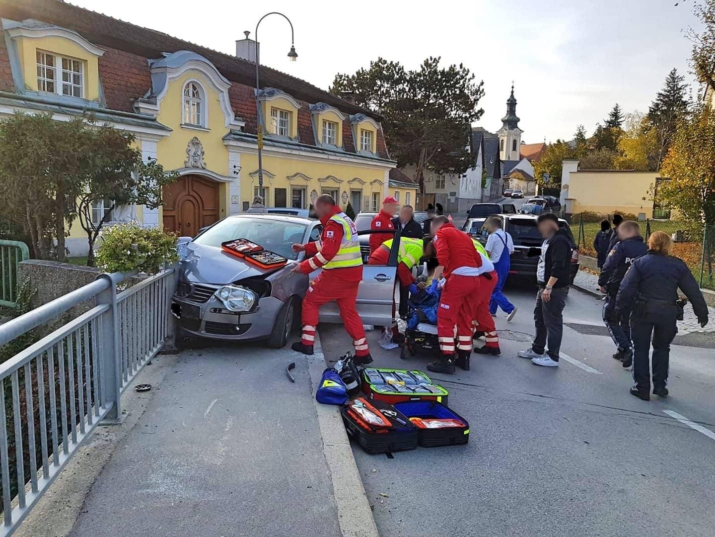 Verkehrsunfall in Weidling