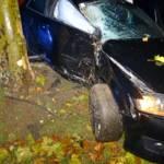 PKW gegen Baum in Ternitz
