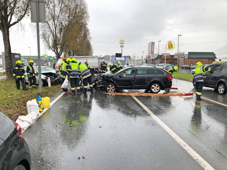 Verkehrsunfall Maria Gailer Straße