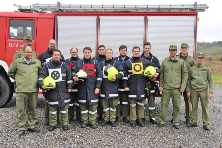 Branddienstleistungsprüfung FF Neuhaus/Klausenbach und FF Rudersdorf-Ort