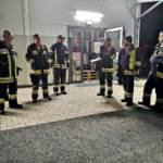 Feuerwehrübung in einer Brauerei in Krumbach
