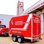 Neuer Anhänger für Höhenrettungsgruppe Wiener Neudorf