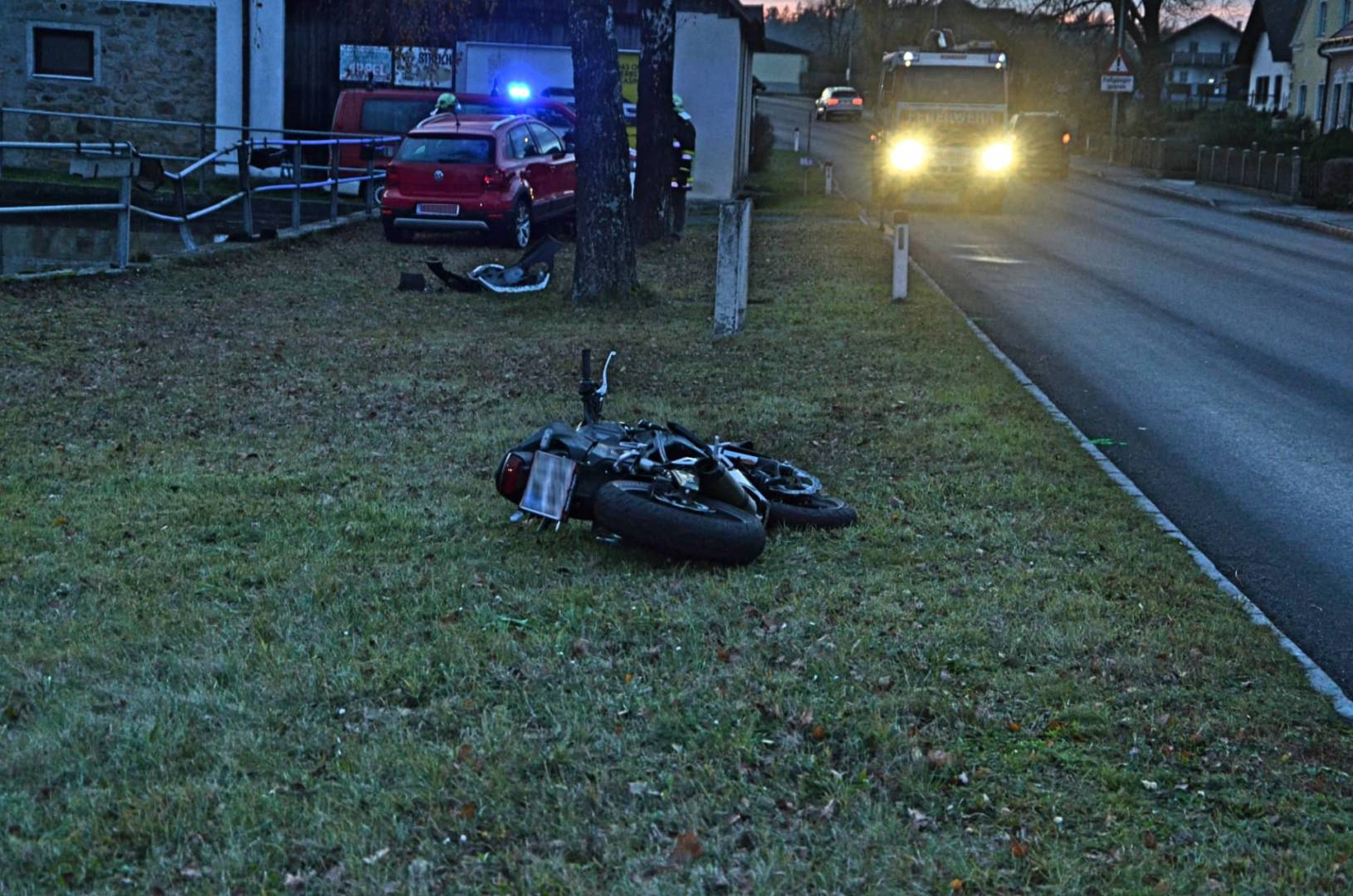 Verkehrsunfall in Nonndorf