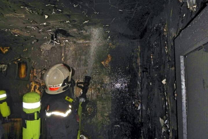Zimmerbrand mit Todesfolge in Wien-Meidling