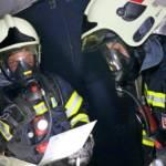 Schwerpunktübung der Feuerwehren auf der S10
