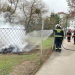 Fahrzeugbrand entpuppt sich als Lagerfeuer