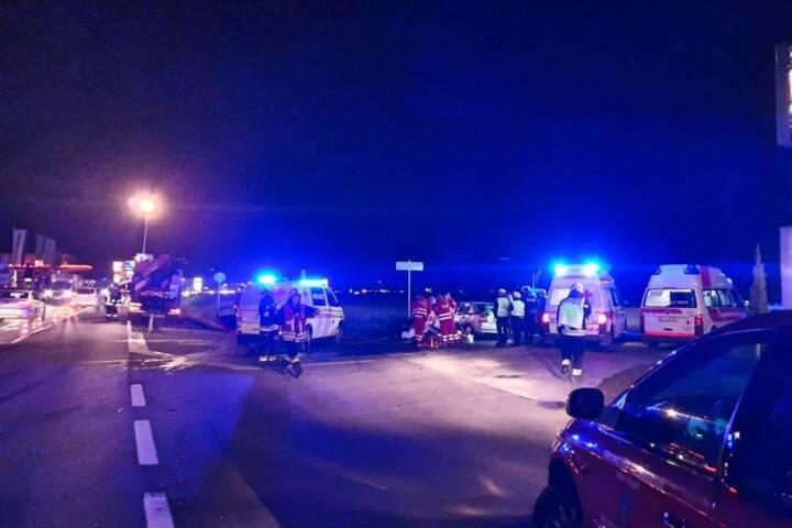 Feuerwehreinsatz auf B76 endet glimpflich