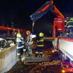 Zug gegen PKW beim Bahnübergang Pottschach