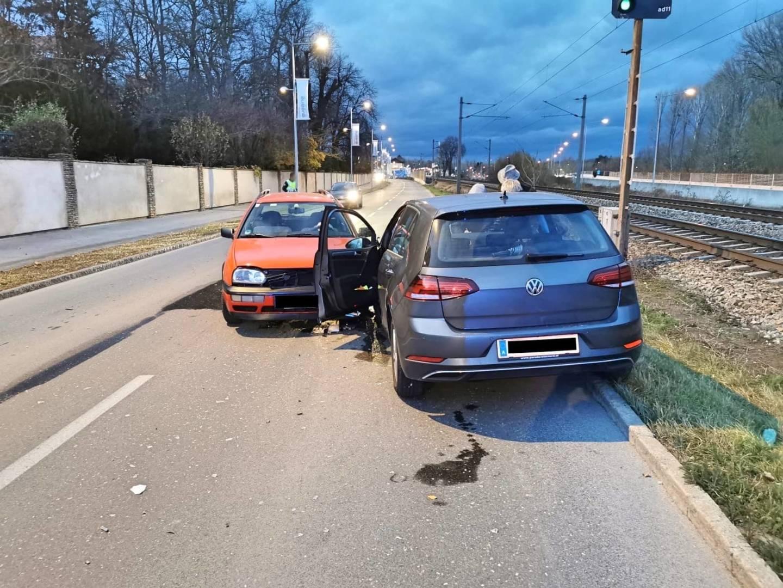 Verkehrsunfall Wienerstraße
