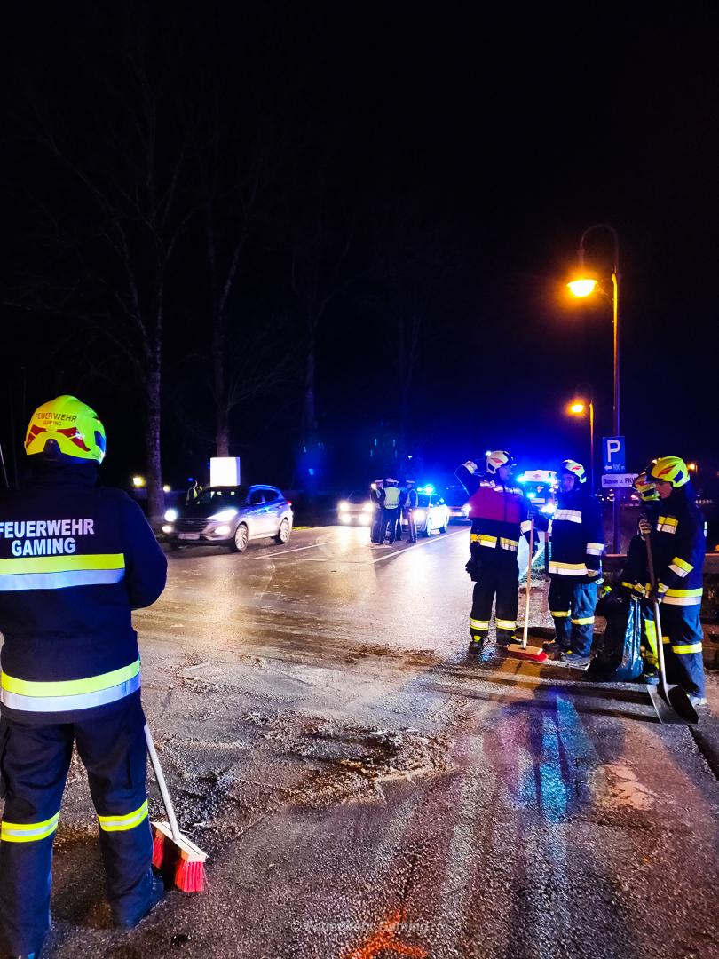 Verkehrsunfall auf B25 1