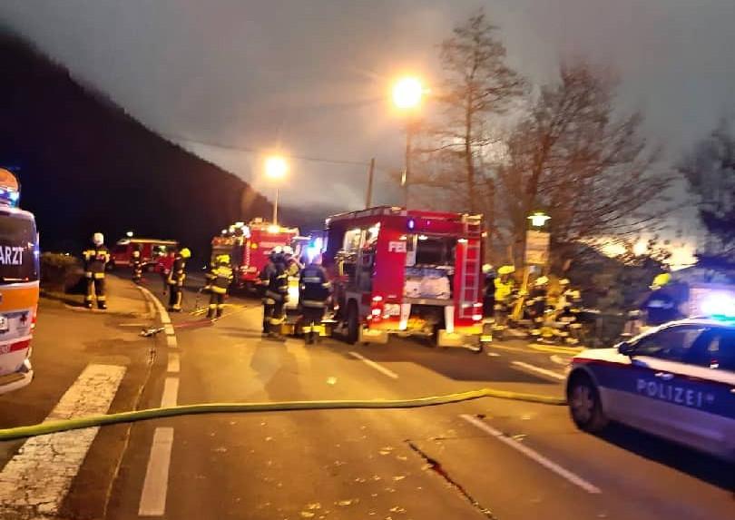 Tödlicher Verkehrsunfall in Pesenthein am Millstättersee
