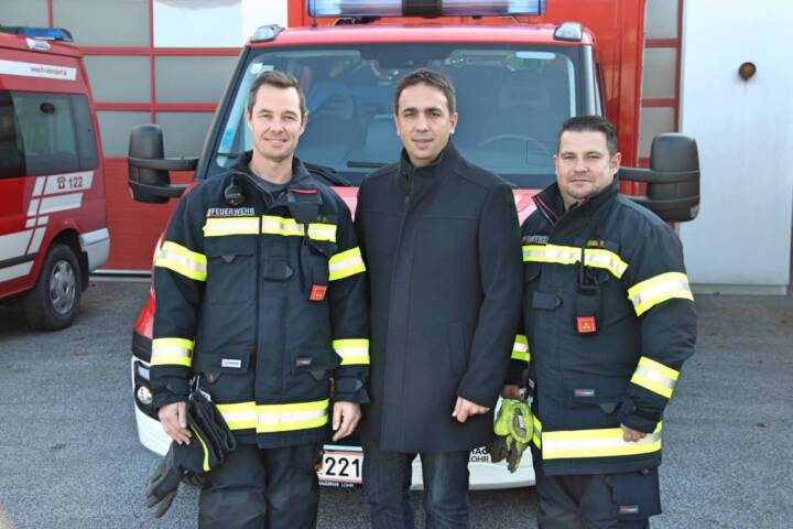 Neue Einsatzbekleidung für FF Rudersdorf-Ort