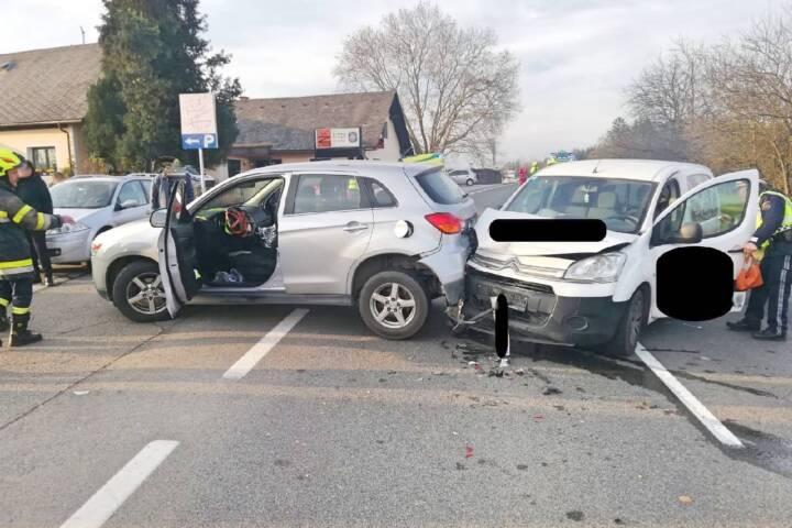 Verkehrsunfall auf der B76 in Rassach