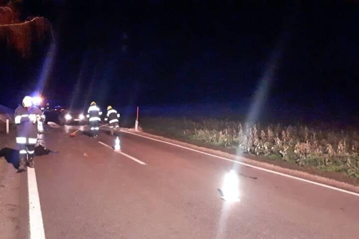 Spektakulärer Verkehrsunfall in Rottersdorf