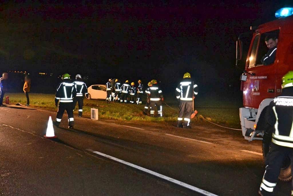 Verkehrsunfall in Andorf (Hebertspram)