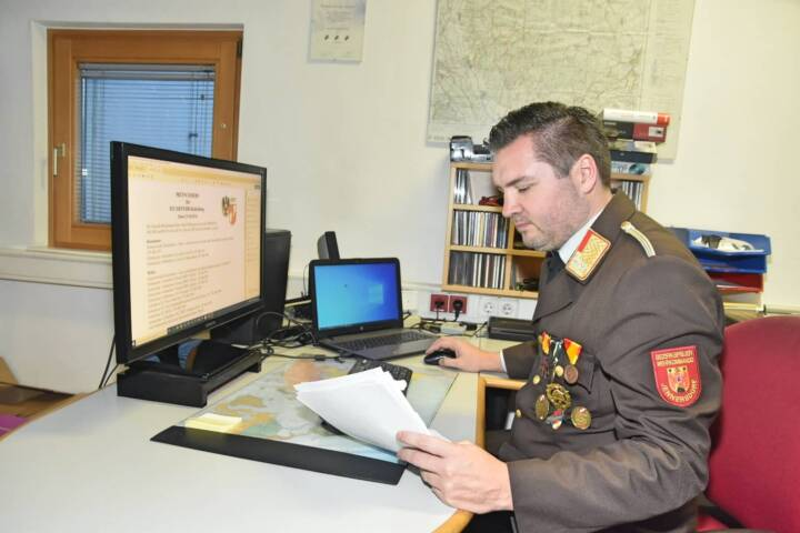 Neuer Landesfeuerwehrdirektor, ABI Dipl. Ing.(FH) Msc. Sven Karner, kommt aus dem Bezirk Jennersdorf