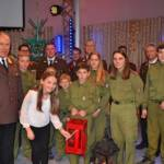 Feuerwehrjugend Aigen im Ennstal offizieller Überbringer des Friedenslichtes in der Steiermark