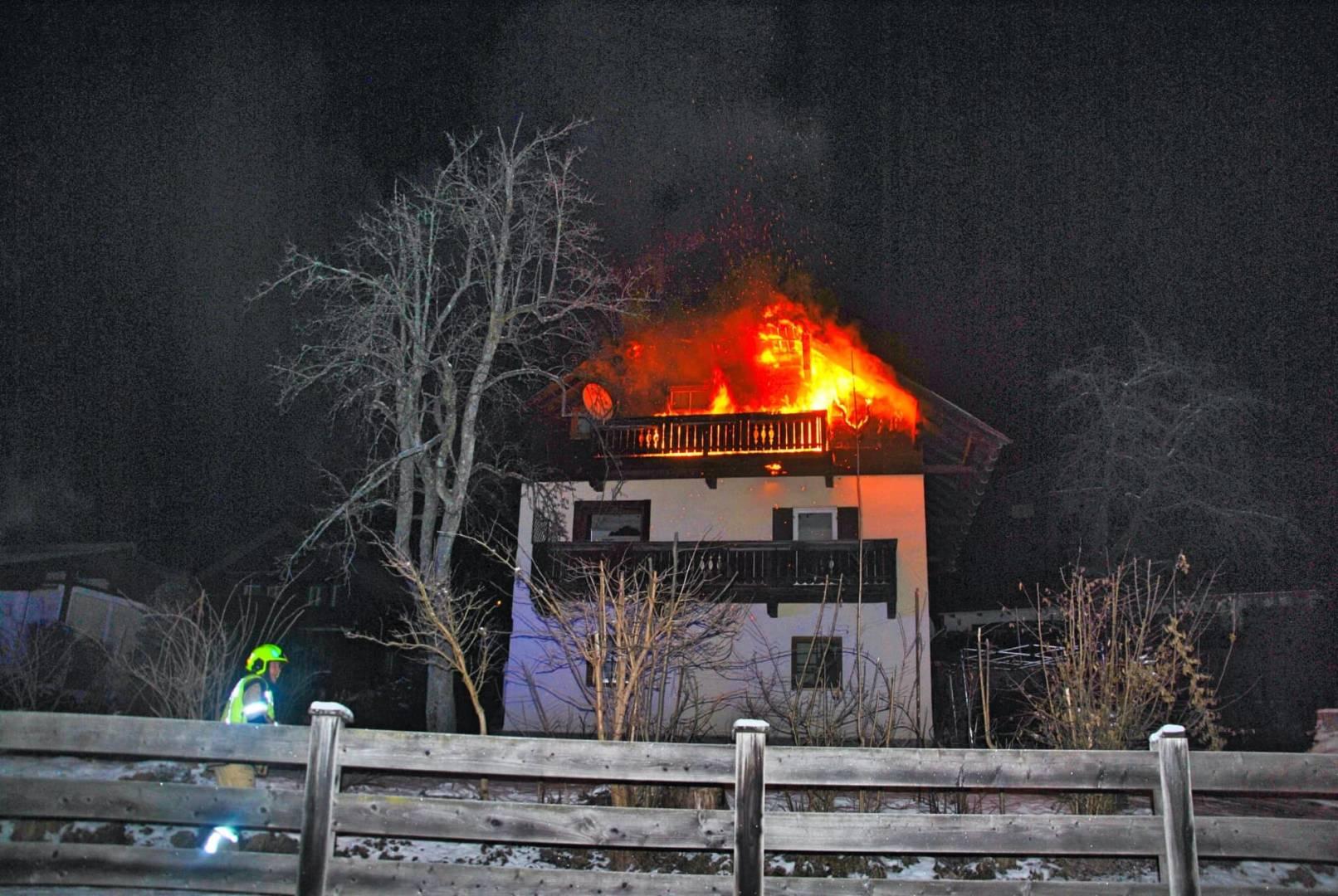 Balkon-, Fassadenbrand am Sonnenhofweg