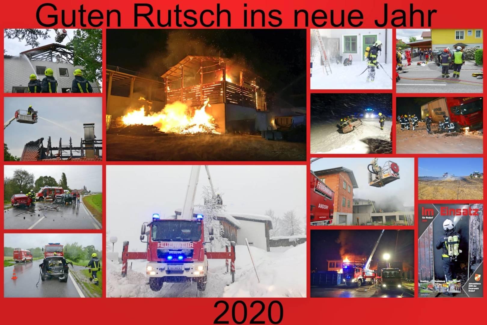 Feuerwehr Andorf zieht Bilanz für 2019