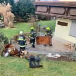 Kellerbrand am Silvestertag rasch bekämpft