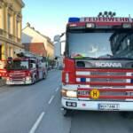 Brandeinsatz und Türöffnung
