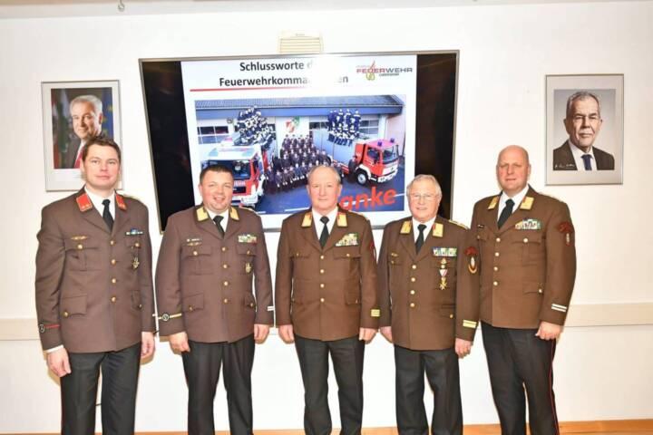 Ordentliche Wehrversammlung der FF Ludersdorf mit eindrucksvoller Bilanz