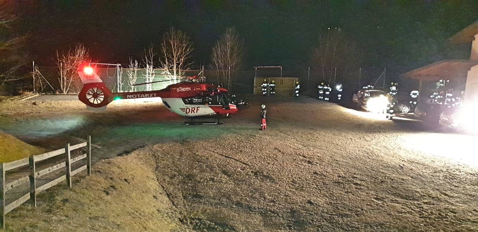 Hubschrauberlandeplatz ausleuchten - Kaning