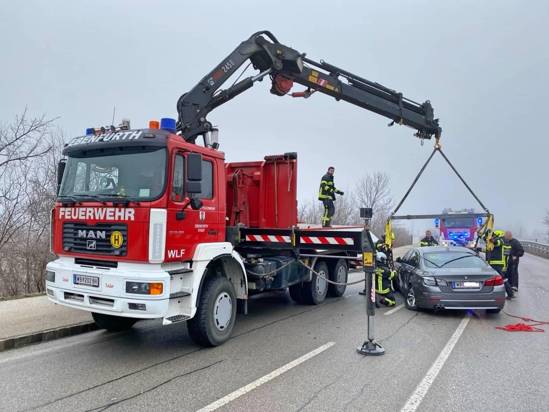 Verkehrsunfall auf der B60