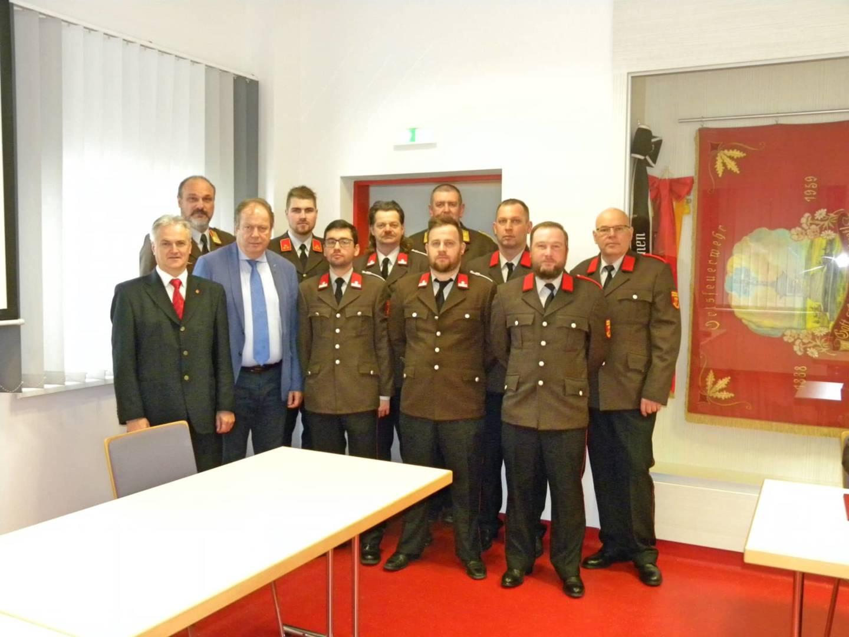 Jahreshauptdienstbesprechung der FF Mogersdorf-Ort