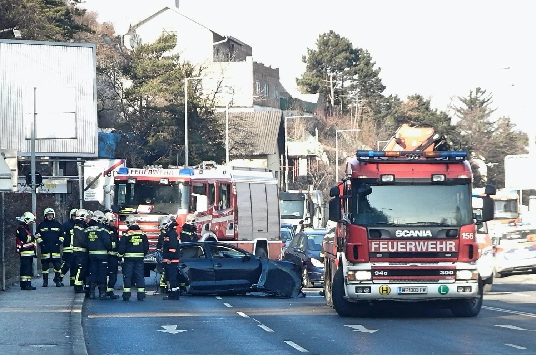 Verkehrsunfall in Wien-Döbling