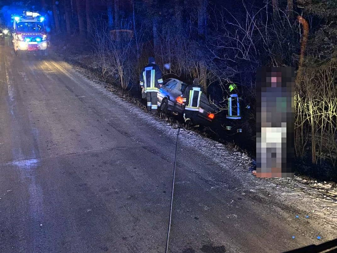 Fahrzeugbergung in Tiefenbach