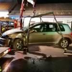 Verkehrsunfall im Ortsgebiet Rudersdorf