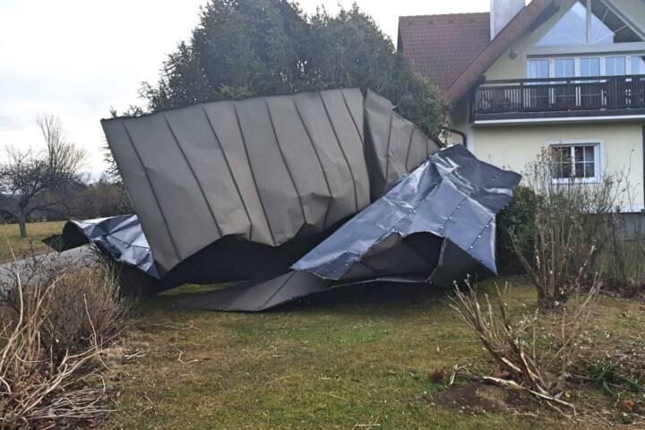 Sturmtief Sabine sorgt für Feuerwehreinsätze