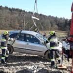 Verkehrsunfall auf der B57a