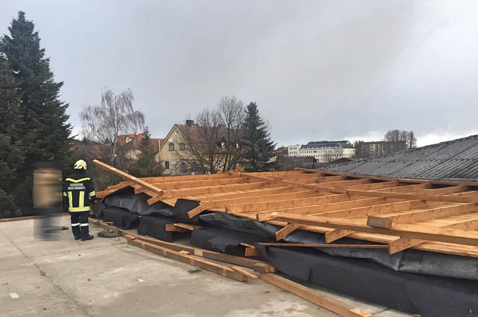 Sturmeinsätze am Montag, 10.02.2020 im Bezirk Waidhofen an der Thaya