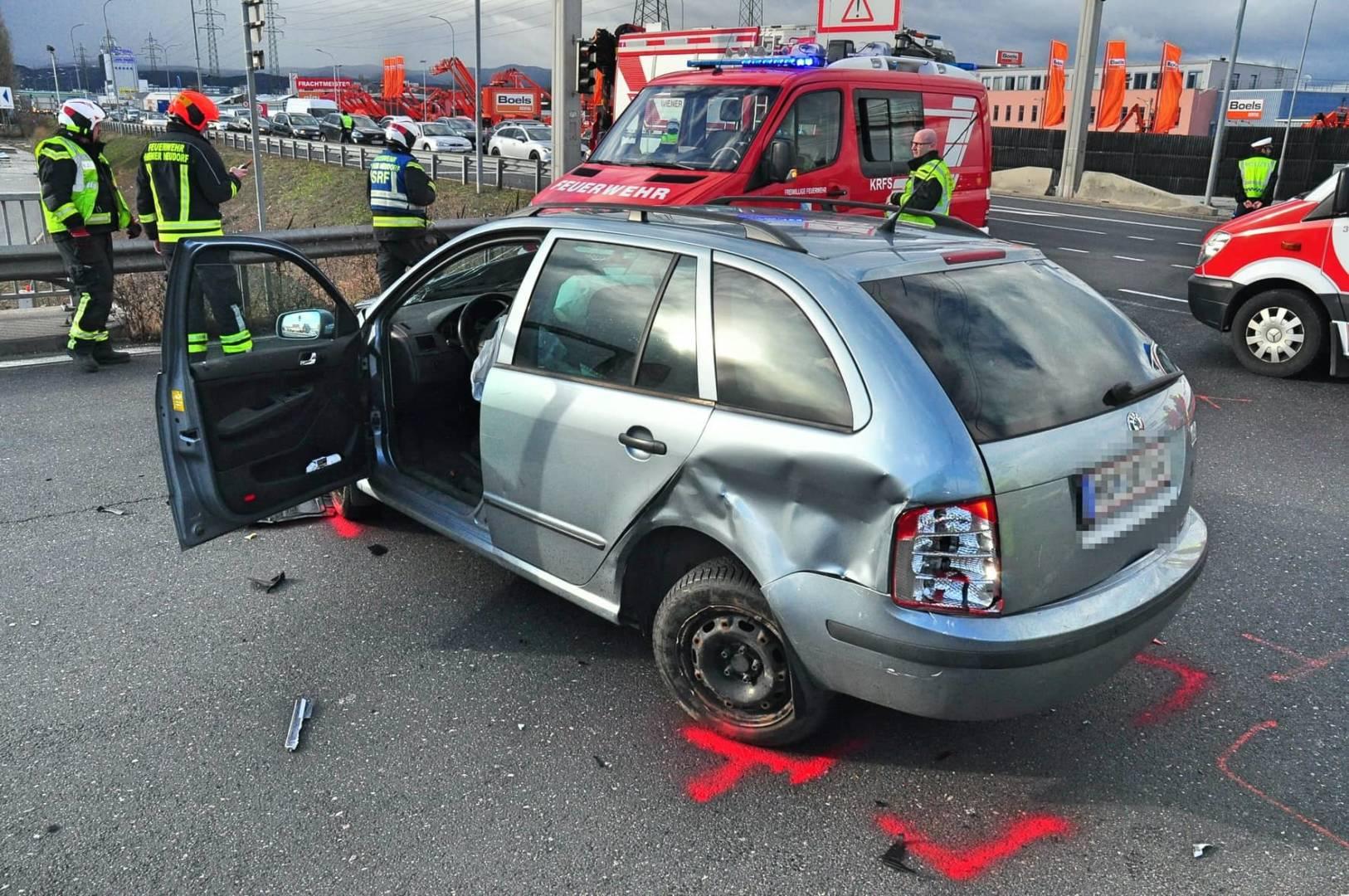 Verkehrsunfall am Valentinstag endet glimpflich
