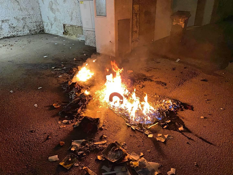 Müllbehälterbrand in der Mödlingergasse