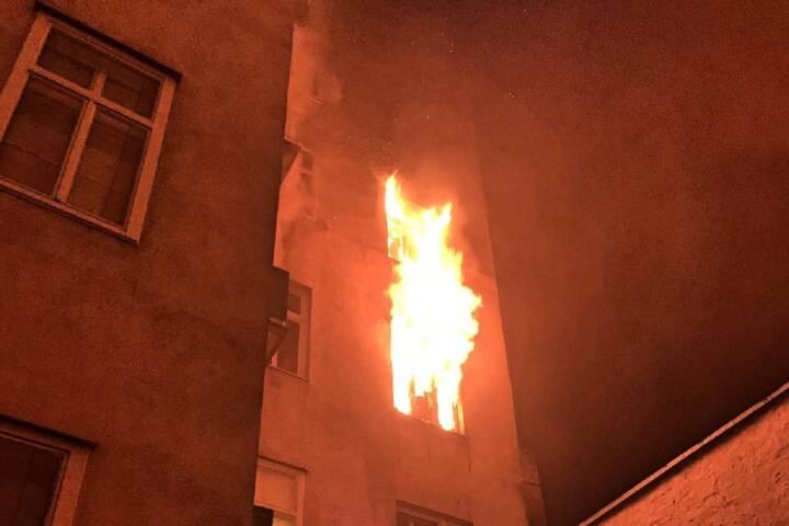 Zimmerbrand in Wien – Mariahilf