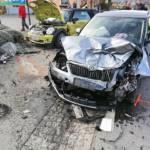 Schwerer Verkehrsunfall auf der B69