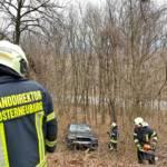 Fahrzeugbergung nach Verkehrsunfall auf der Höhenstraße