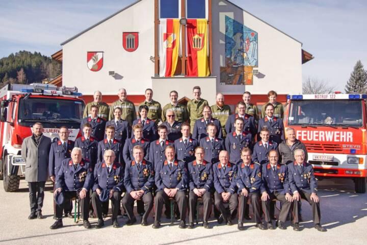 Jahreshauptversammlung der Feuerwehr Globasnitz