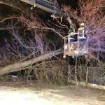 Sturmtief Yulia sorgt für etliche Schäden