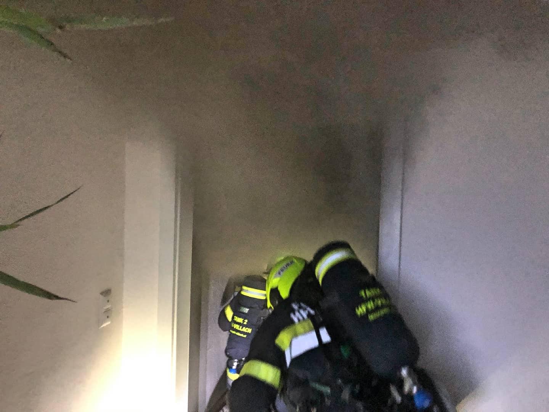 Küchenbrand in Landskron
