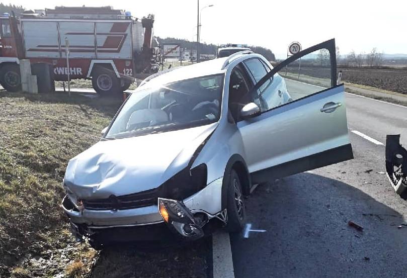 Verkehrsunfall in Deutsch Kaltenbrunn